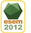 ESEM 2012 - Sept 19-20, 2012 - Lund - Sweden